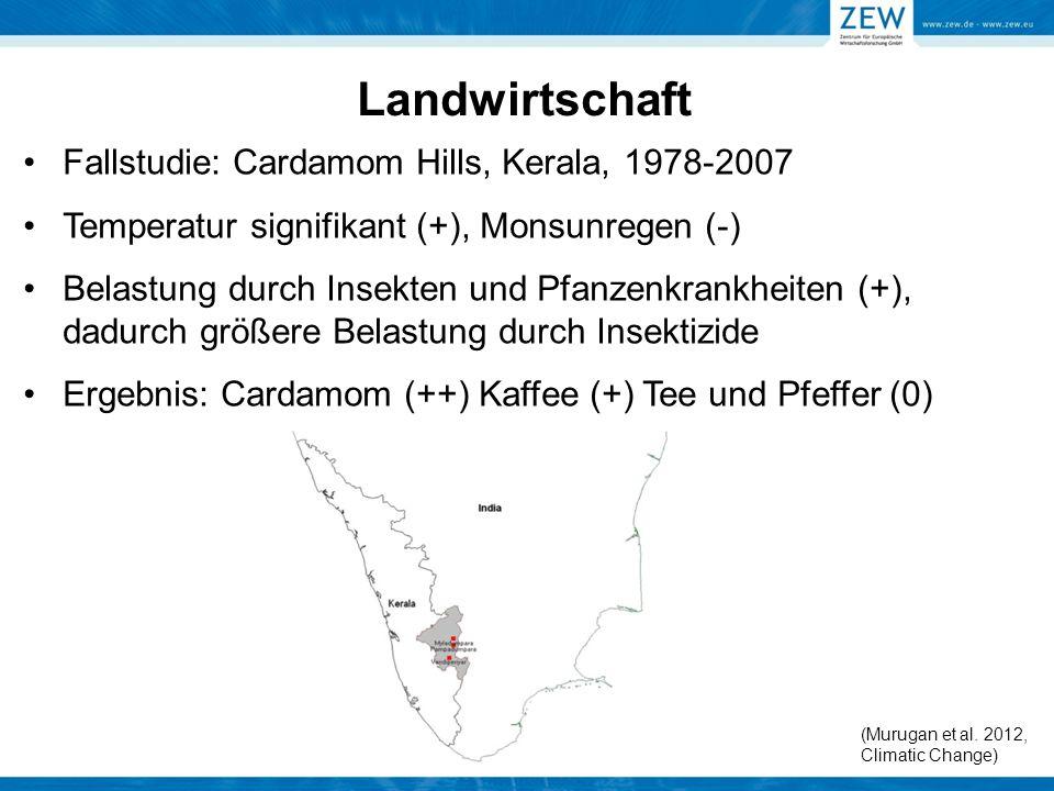 Landwirtschaft Fallstudie: Cardamom Hills, Kerala, 1978-2007