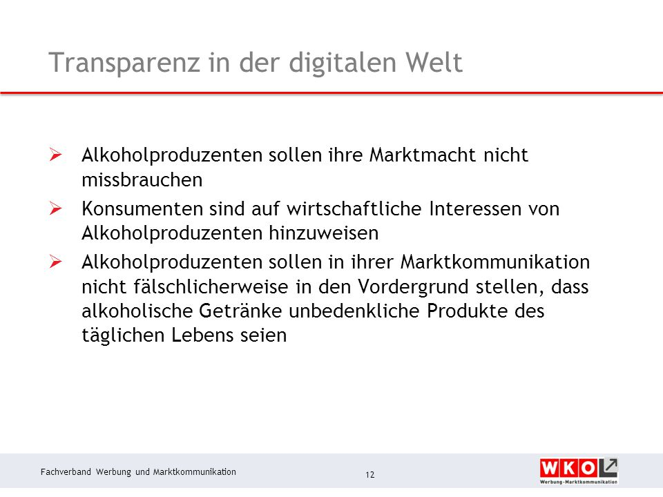Transparenz in der digitalen Welt