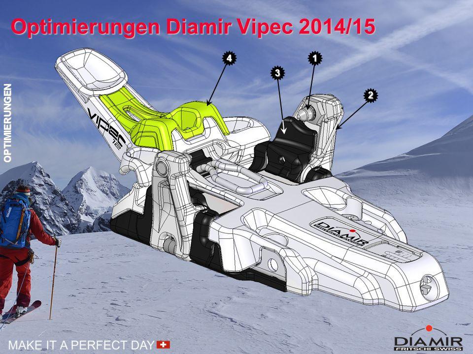 Optimierungen Diamir Vipec 2014/15
