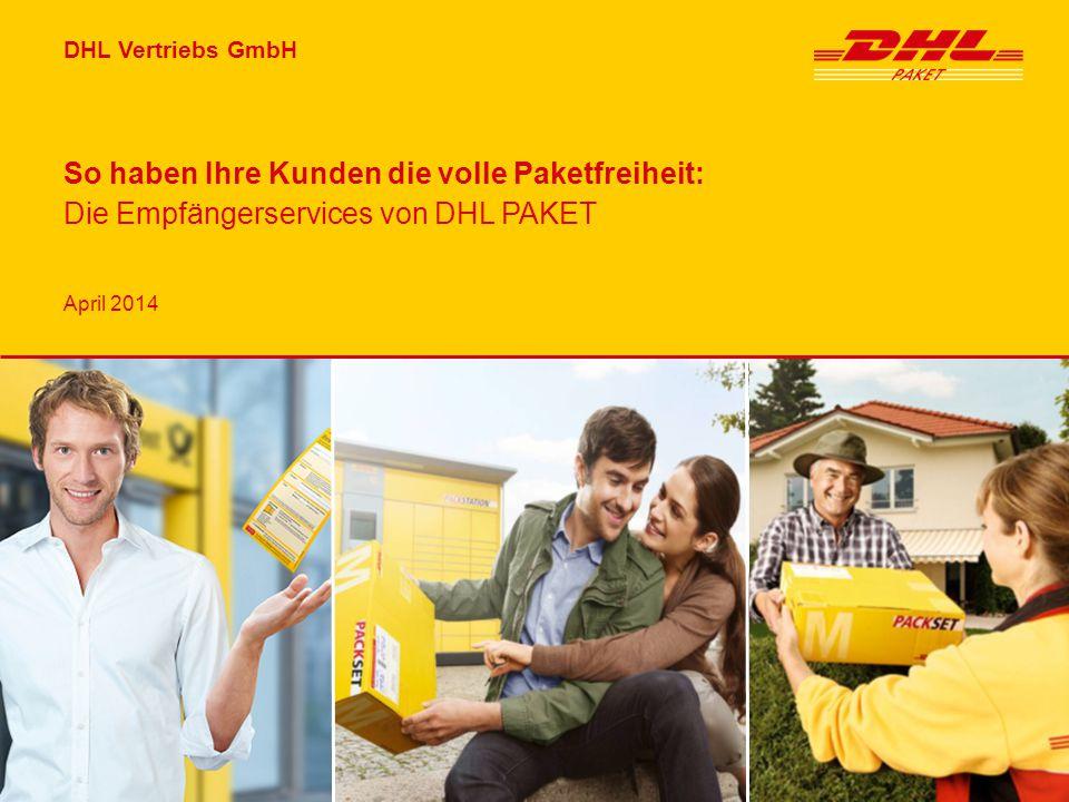 So haben Ihre Kunden die volle Paketfreiheit: Die Empfängerservices von DHL PAKET