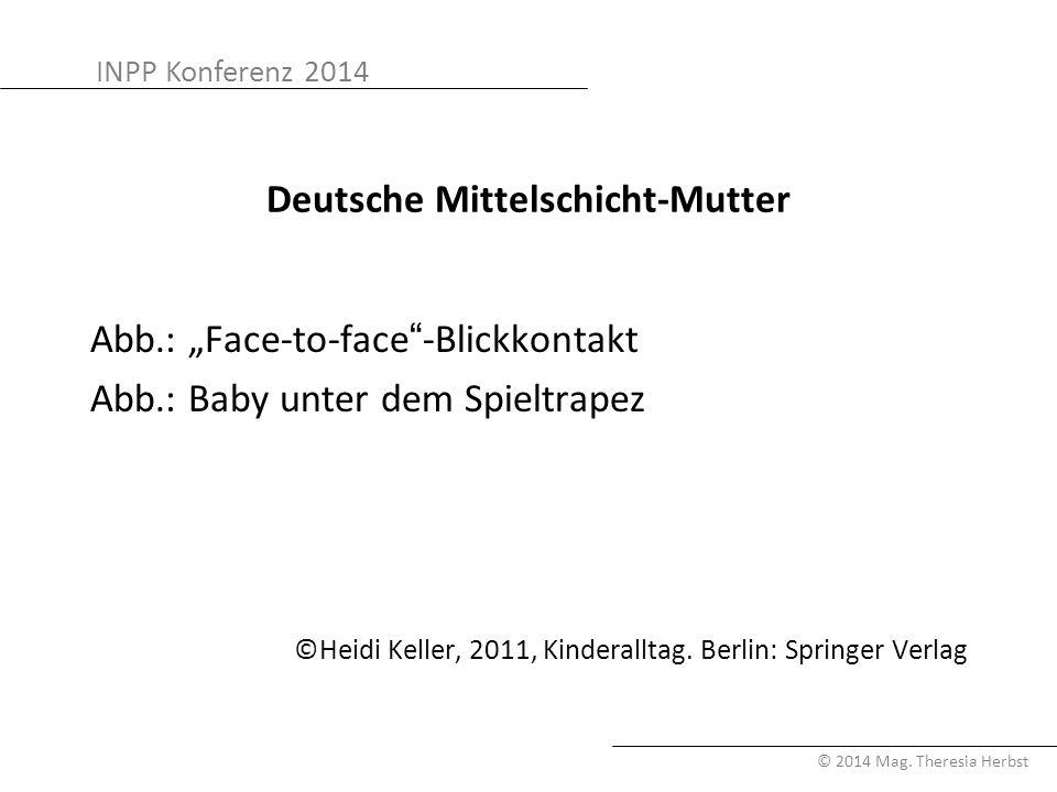 Deutsche Mittelschicht-Mutter