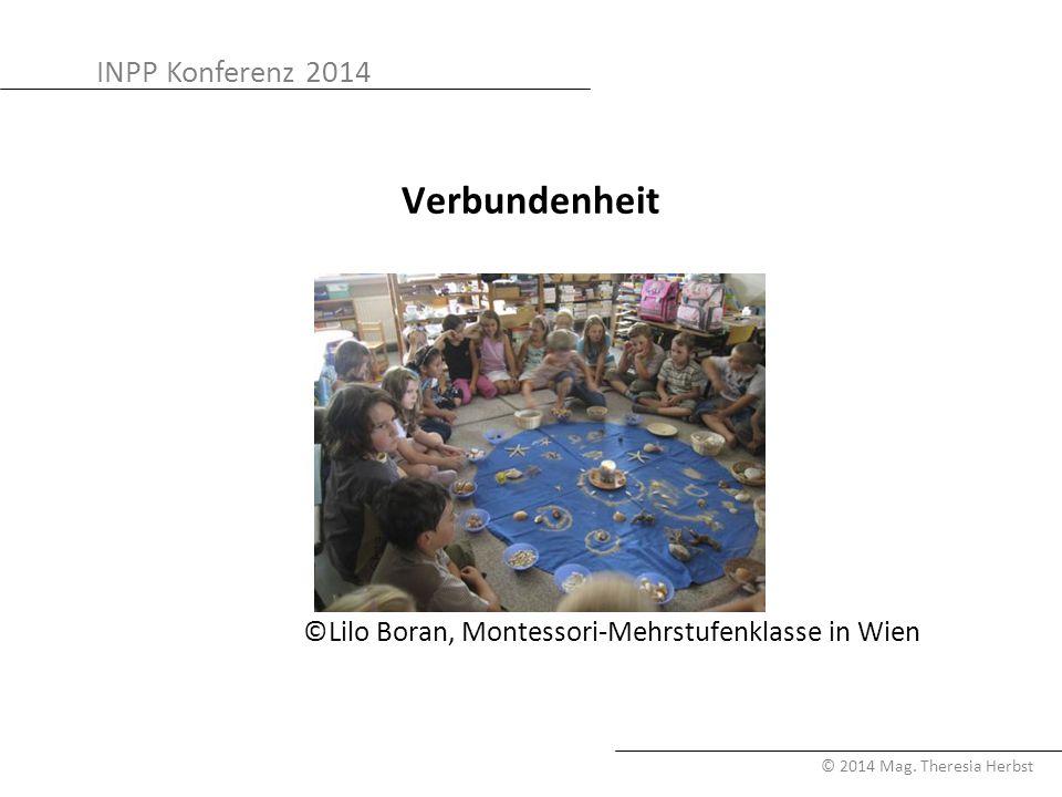 Verbundenheit ©Lilo Boran, Montessori-Mehrstufenklasse in Wien