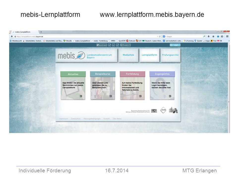 mebis-Lernplattform www.lernplattform.mebis.bayern.de