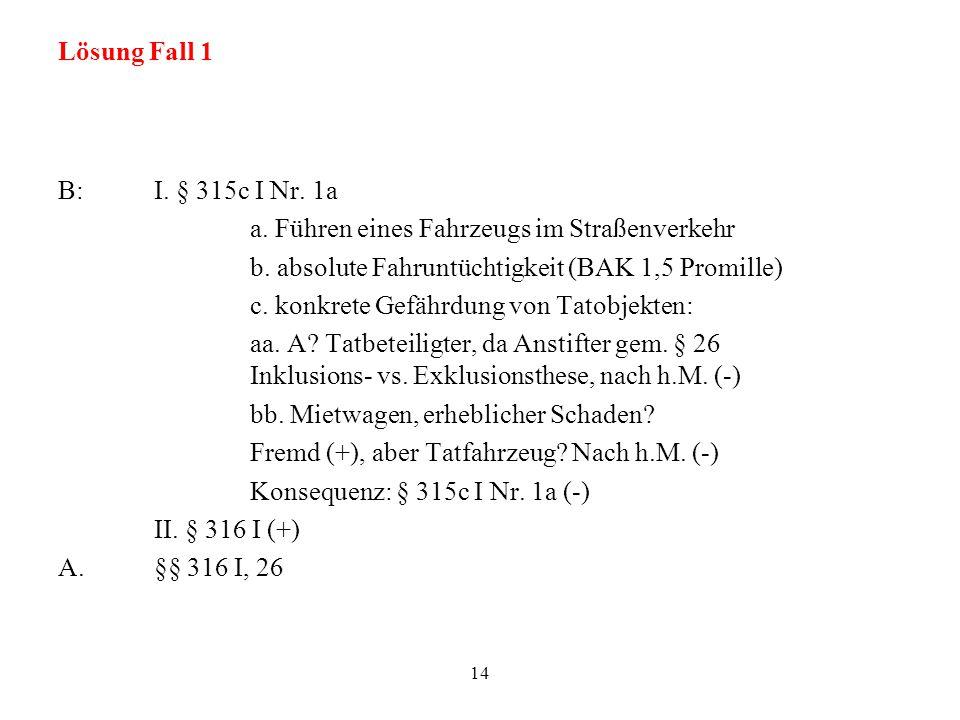 Lösung Fall 1