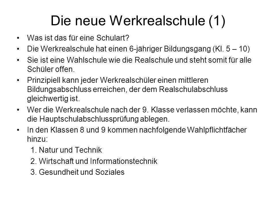 Die neue Werkrealschule (1)