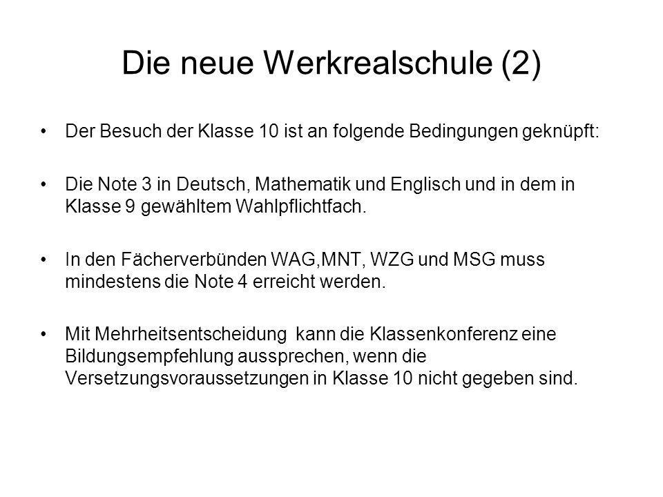 Die neue Werkrealschule (2)
