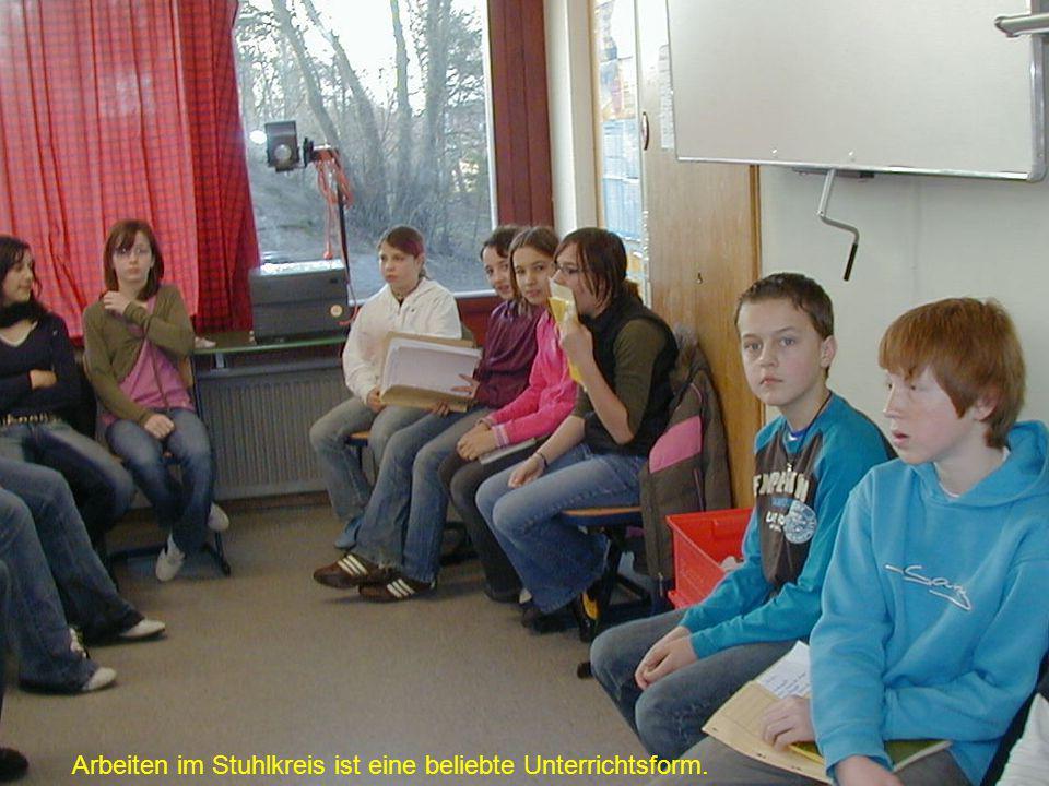 Arbeiten im Stuhlkreis ist eine beliebte Unterrichtsform.