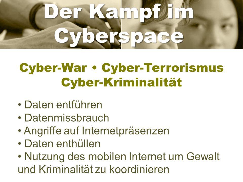 Cyber-War • Cyber-Terrorismus