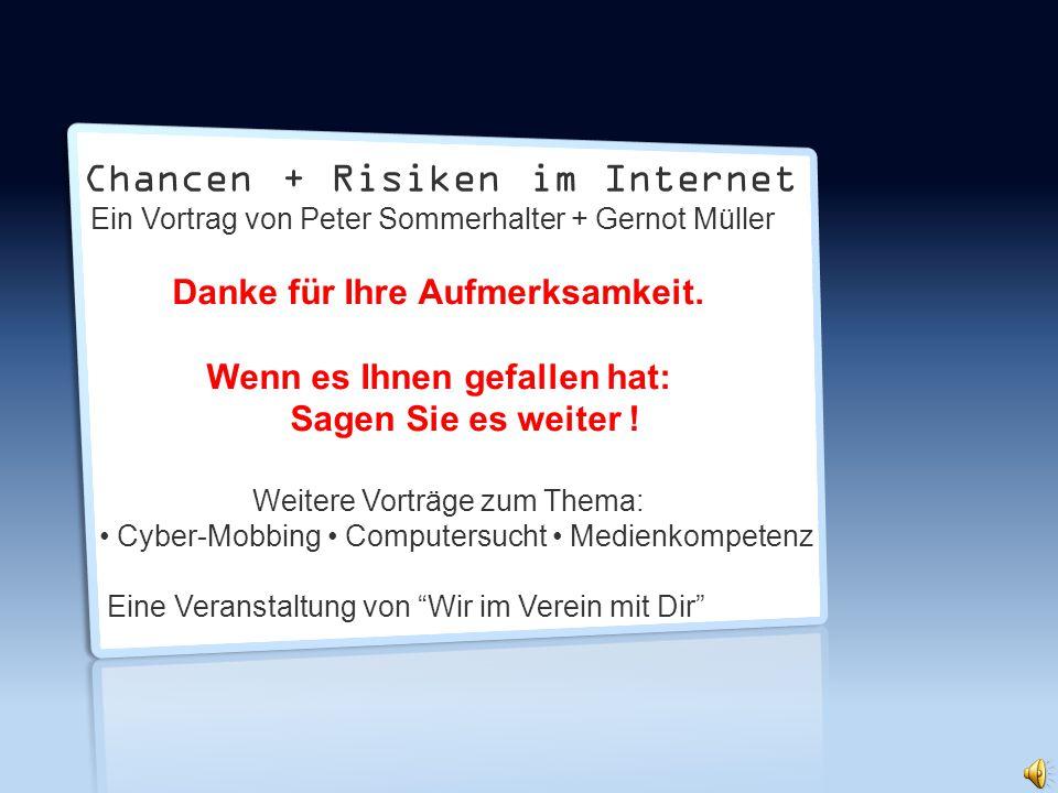 Chancen + Risiken im Internet