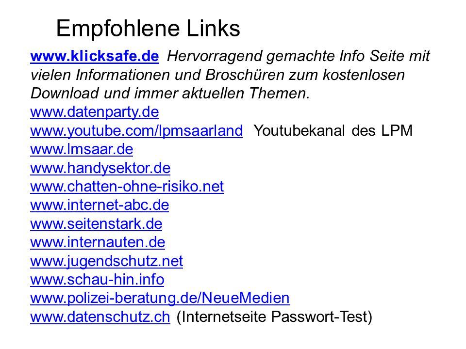 Empfohlene Links