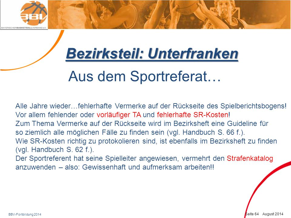 Bezirksteil: Unterfranken