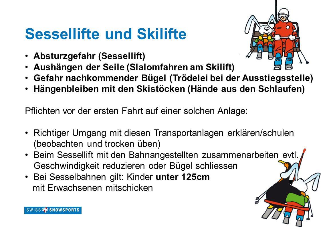 Sessellifte und Skilifte