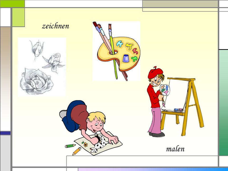 zeichnen malen