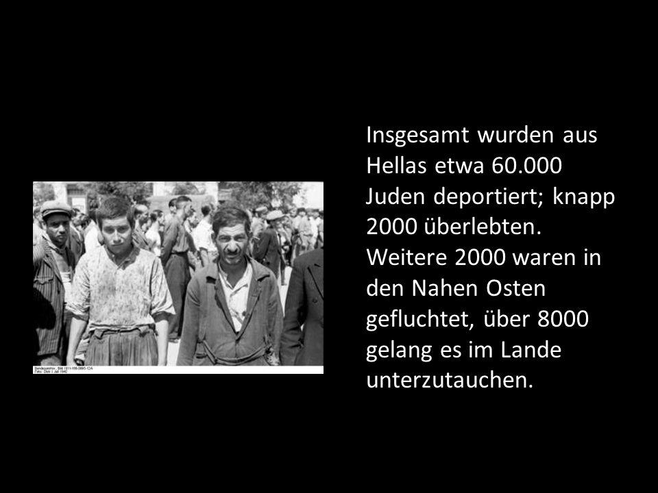 Insgesamt wurden aus Hellas etwa 60