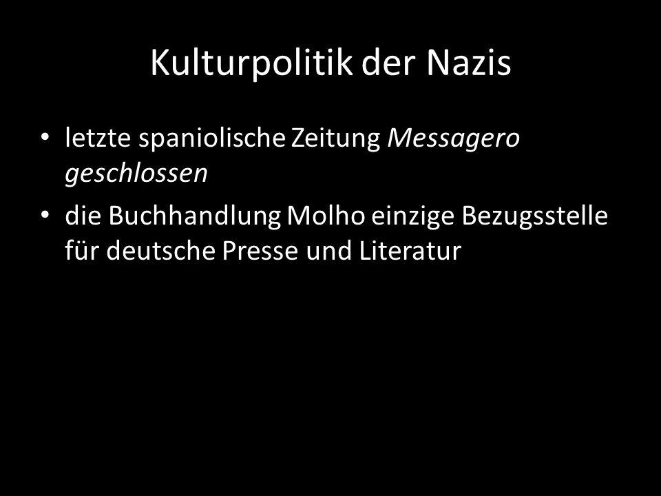Kulturpolitik der Nazis