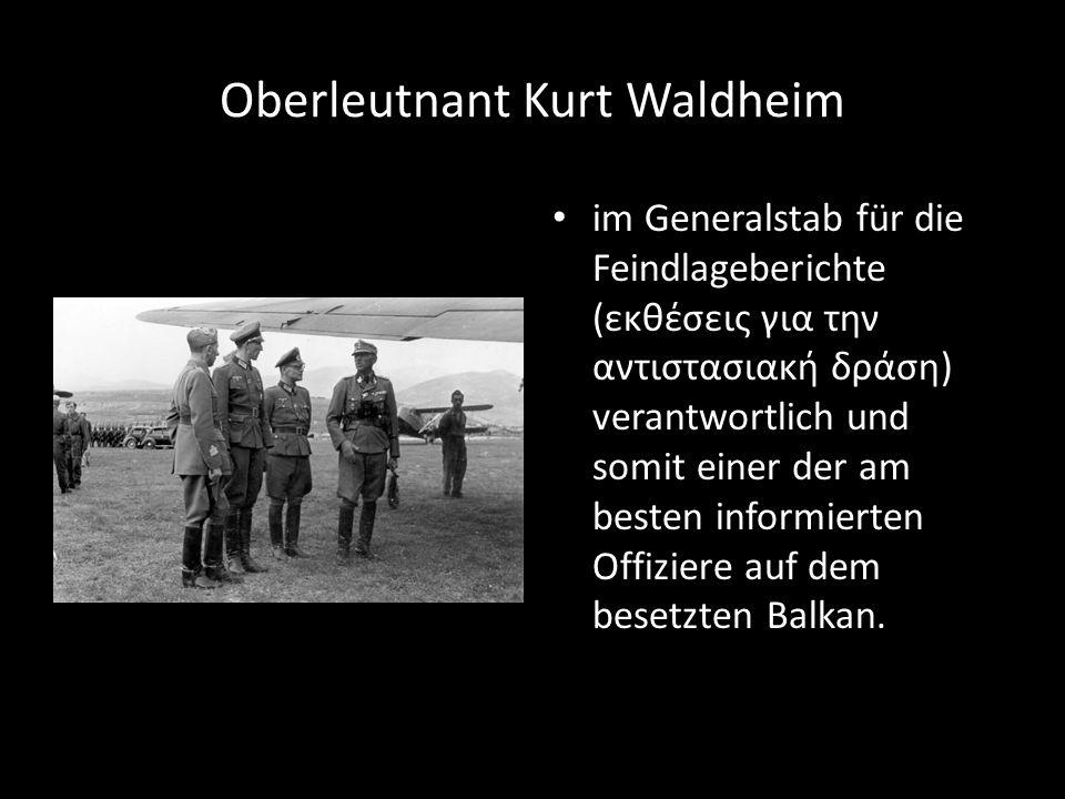 Oberleutnant Kurt Waldheim