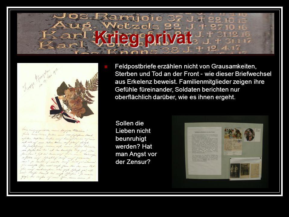 Krieg privat