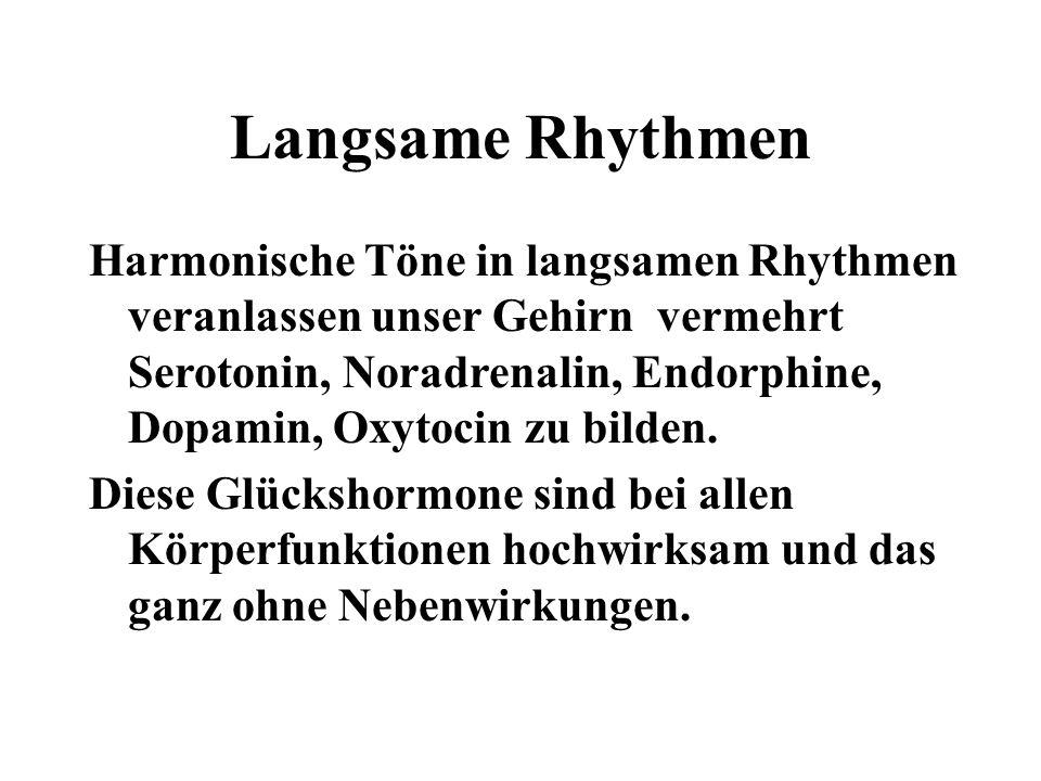 Langsame Rhythmen