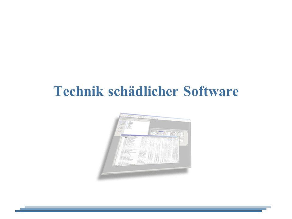 Technik schädlicher Software