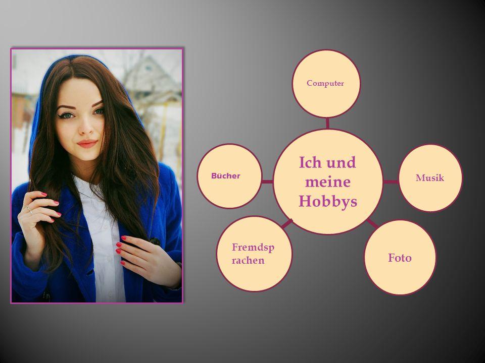 Computer Ich und meine Hobbys Bücher Musik Fremdsprachen Foto