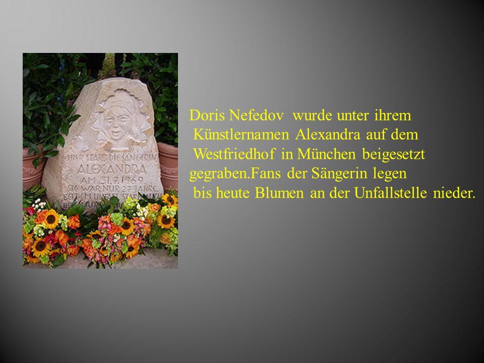 Doris Nefedov wurde unter ihrem
