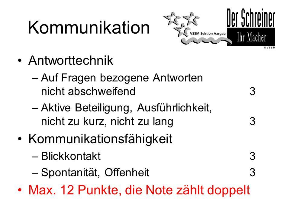 Kommunikation Antworttechnik Kommunikationsfähigkeit