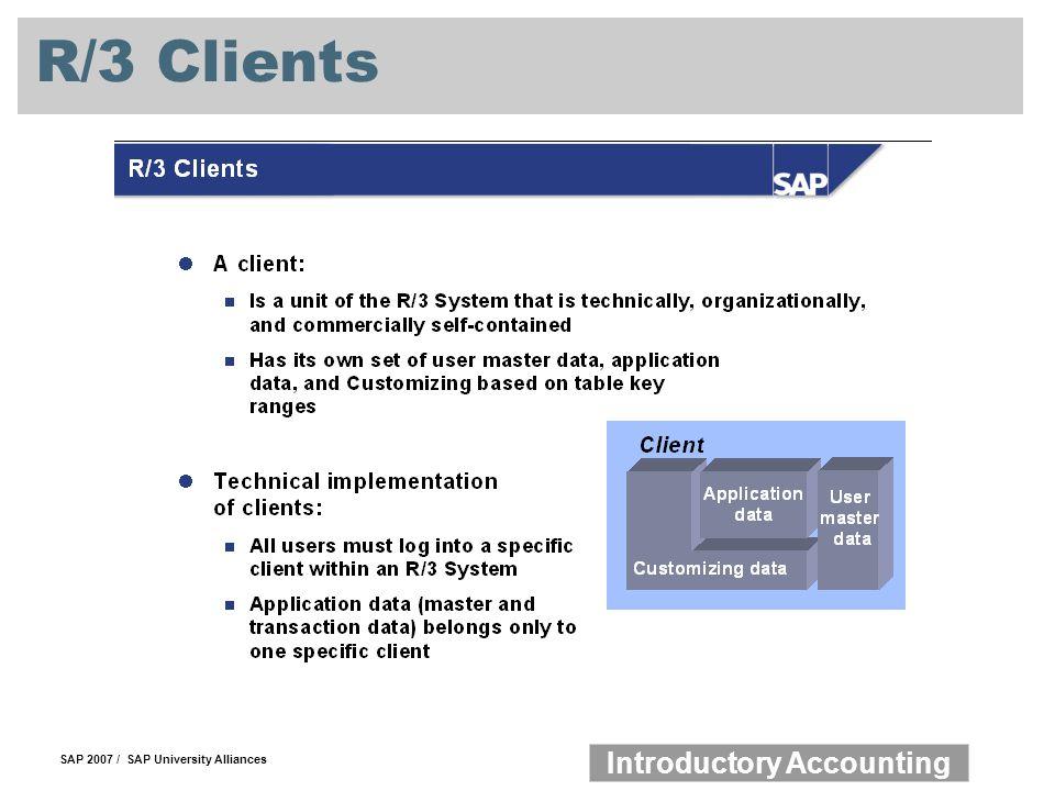 R/3 Clients