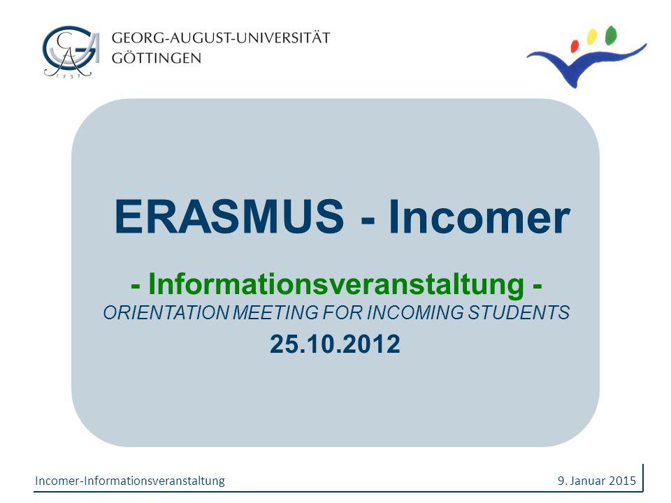 - Informationsveranstaltung -