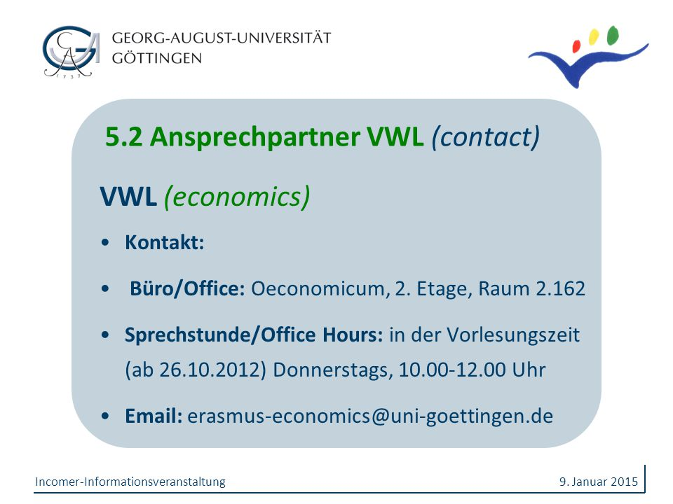 5.2 Ansprechpartner VWL (contact)