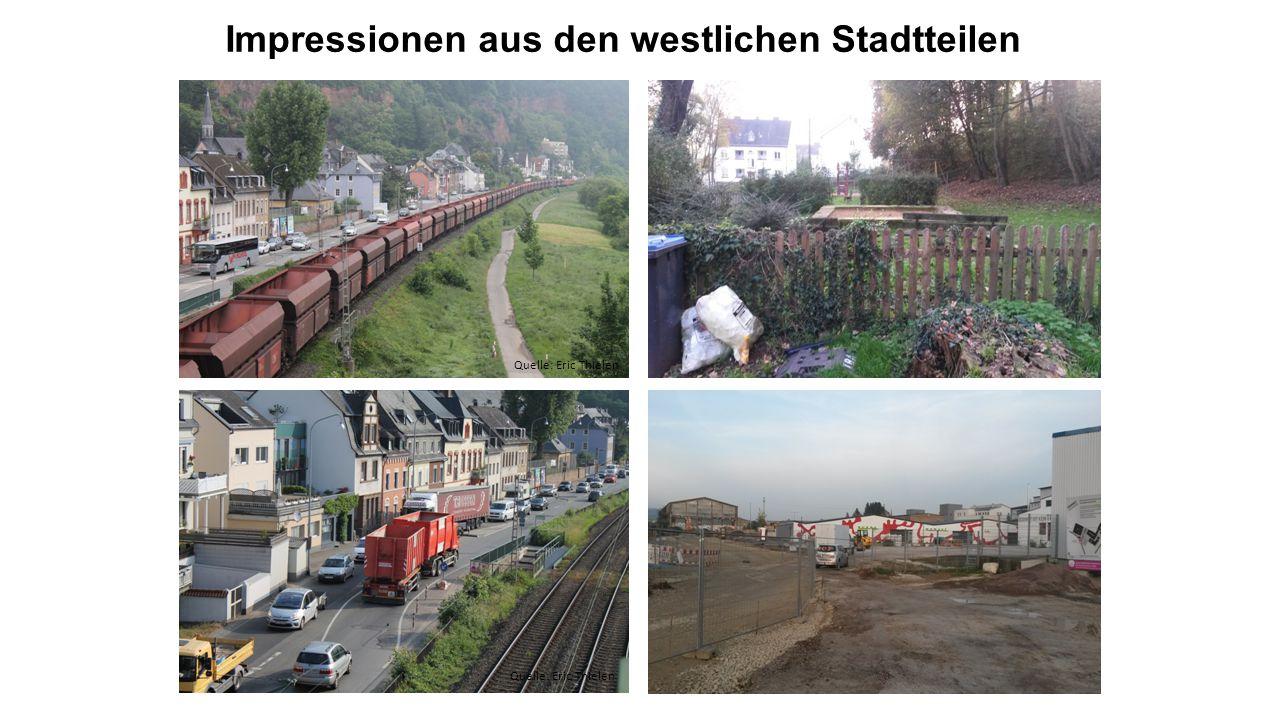 Impressionen aus den westlichen Stadtteilen