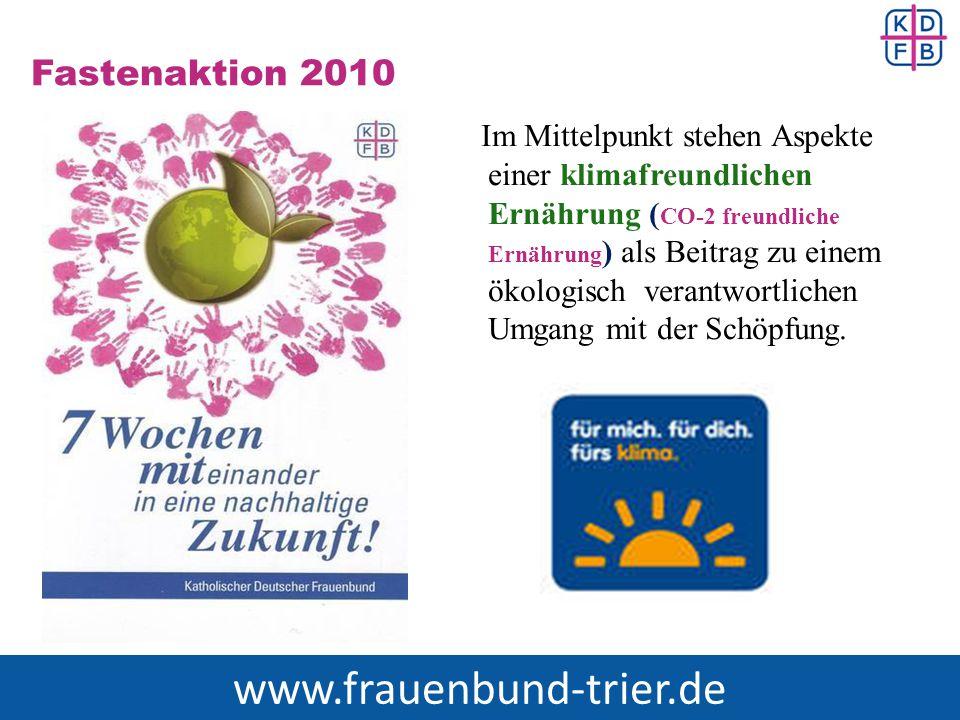 www.frauenbund-trier.de Fastenaktion 2010
