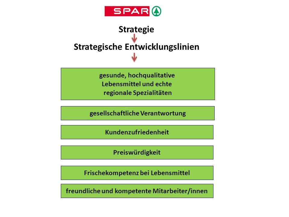 Strategie Strategische Entwicklungslinien