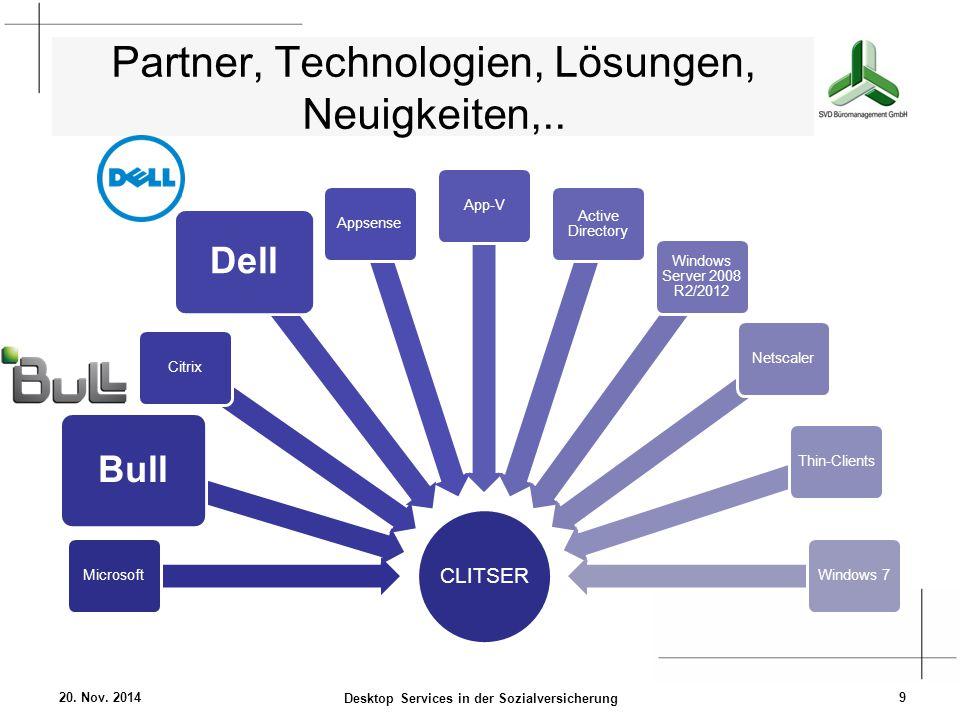Partner, Technologien, Lösungen, Neuigkeiten,..