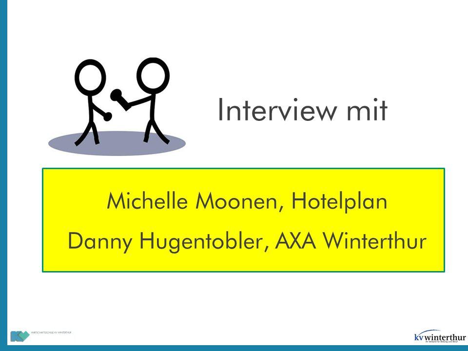 Interview mit Michelle Moonen, Hotelplan