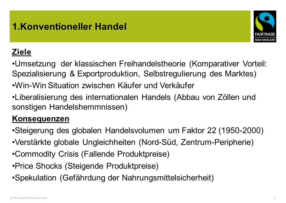 1.Konventioneller Handel
