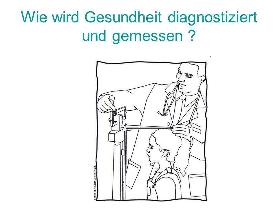 Wie wird Gesundheit diagnostiziert und gemessen