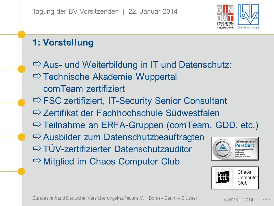 Aus- und Weiterbildung in IT und Datenschutz: