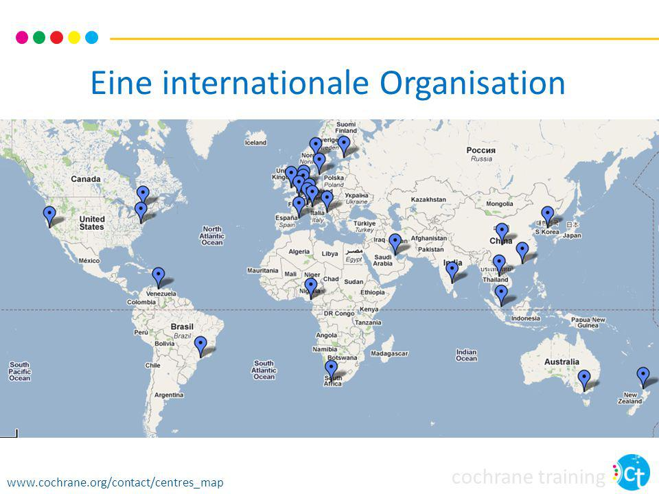 Eine internationale Organisation