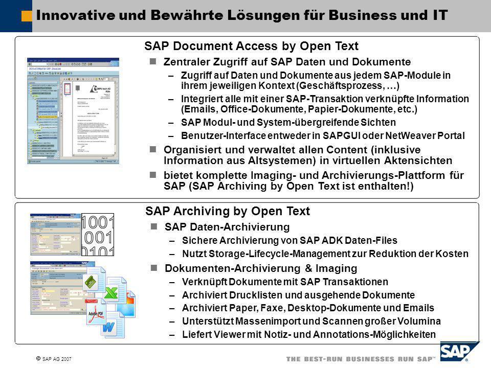 Innovative und Bewährte Lösungen für Business und IT