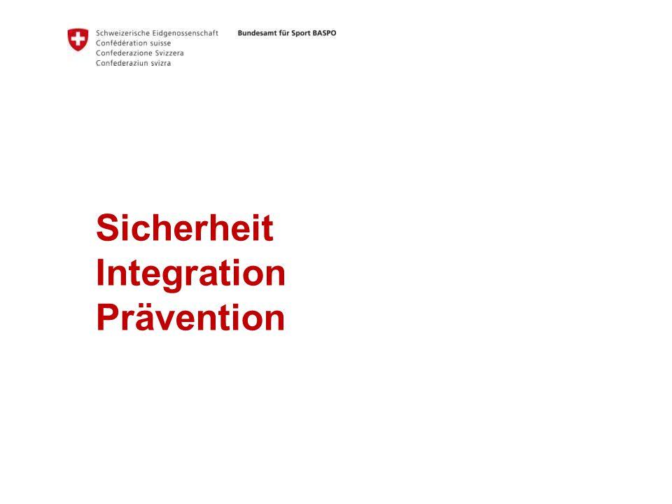 Sicherheit Integration Prävention