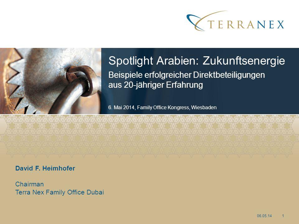Spotlight Arabien: Zukunftsenergie