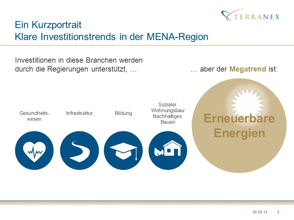 Ein Kurzportrait Klare Investitionstrends in der MENA-Region