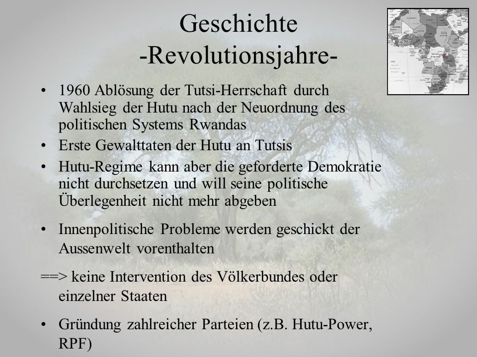 Geschichte -Revolutionsjahre-