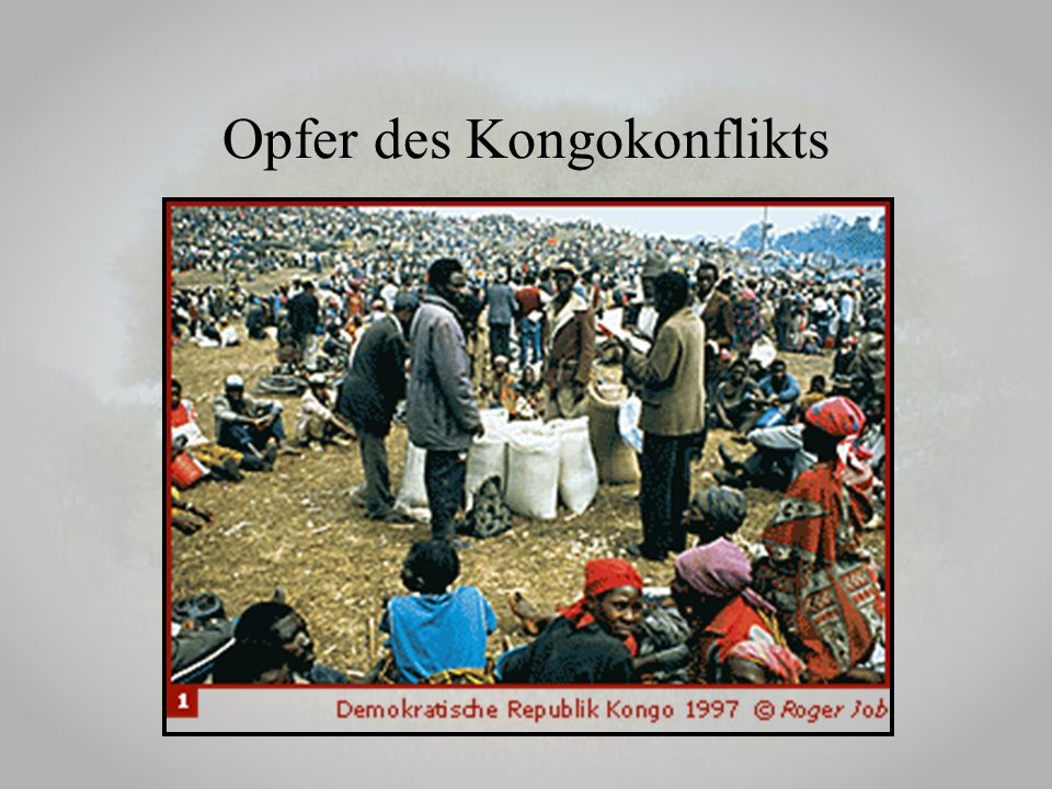 Opfer des Kongokonflikts