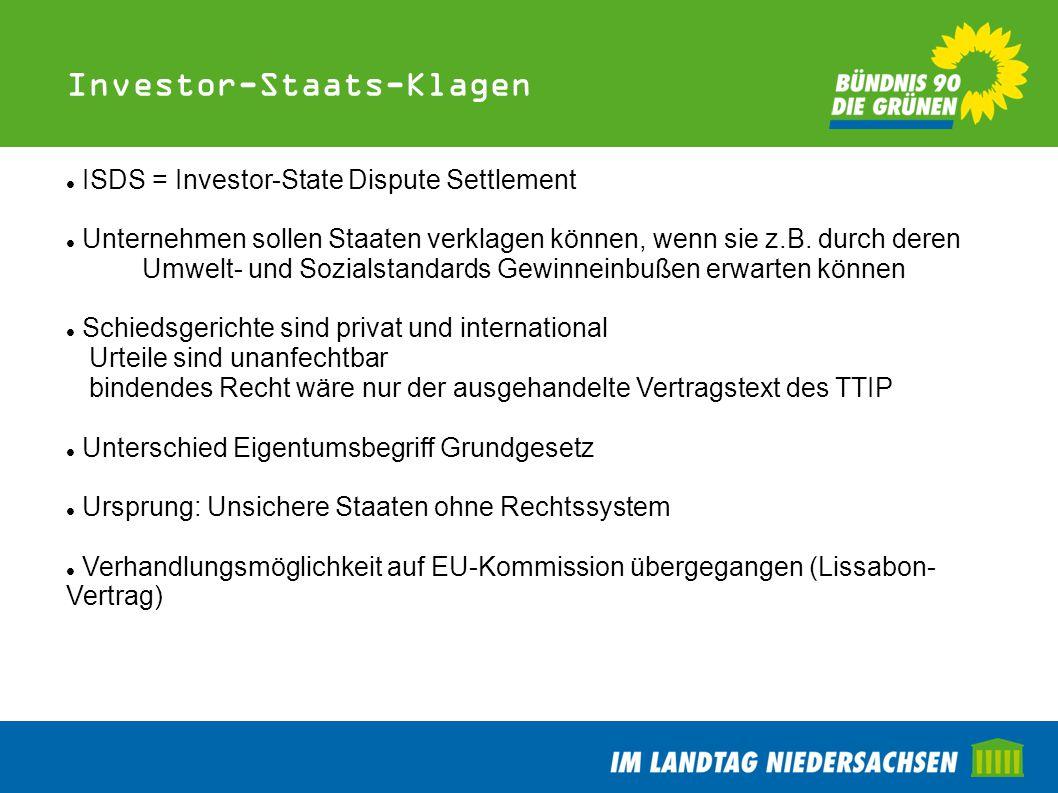 Investor-Staats-Klagen