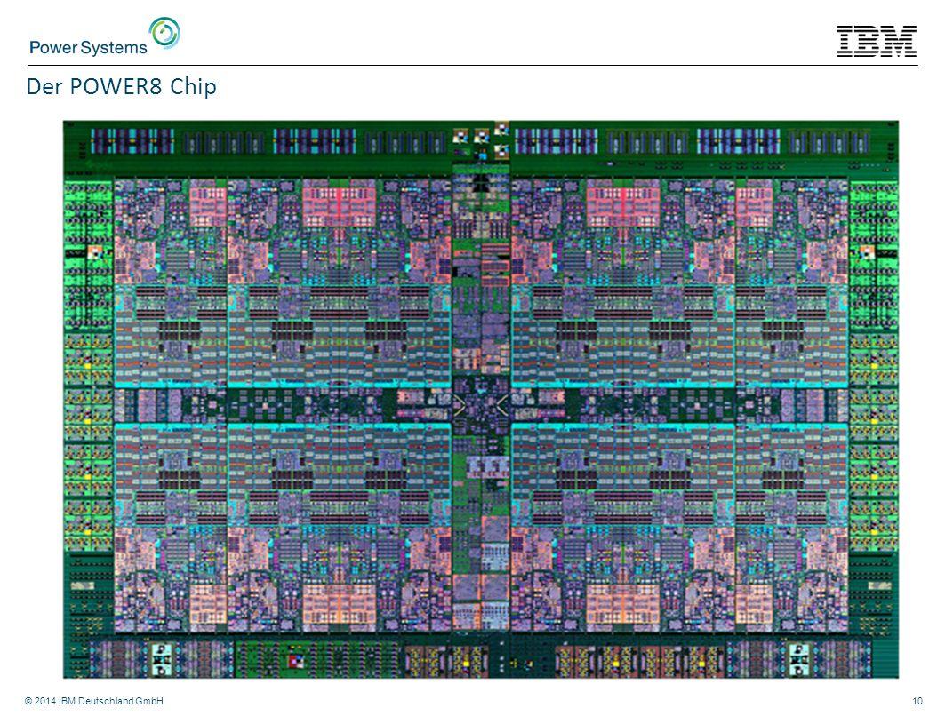 Der POWER8 Chip © 2014 IBM Deutschland GmbH