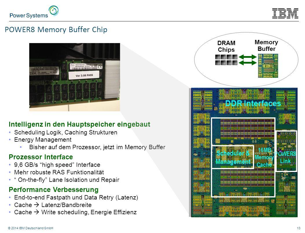 POWER8 Memory Buffer Chip