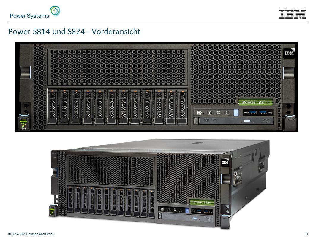 Power S814 und S824 - Vorderansicht