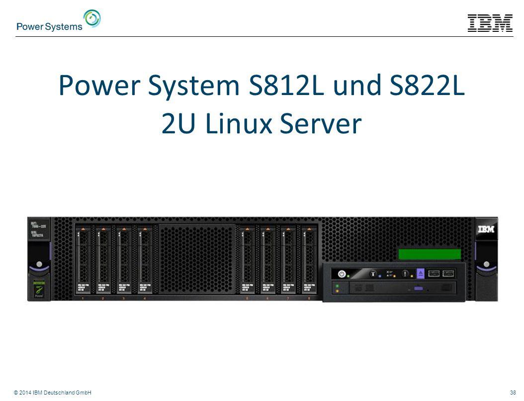 Power System S812L und S822L 2U Linux Server