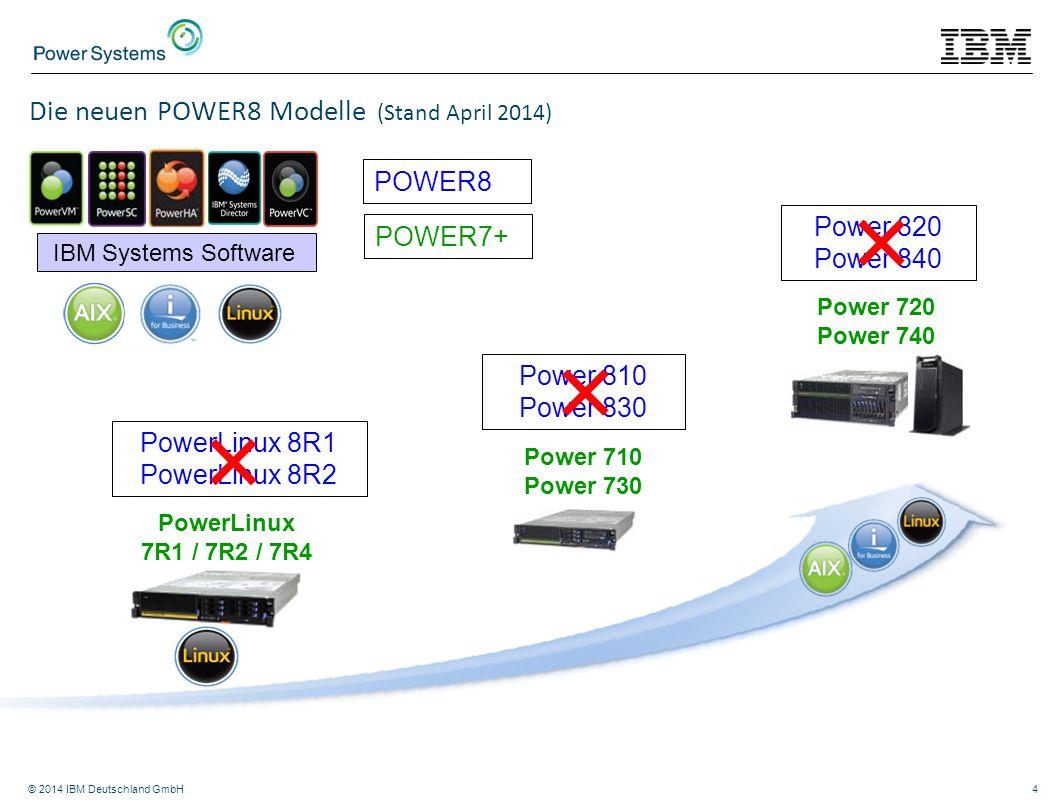 PowerLinux 8R1 PowerLinux 8R2